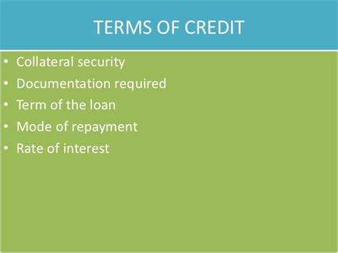 A Formal Credit Arrangement Between A Creditor And Debtor Money And Credit Cbse Class X