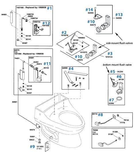 kohler toilet diagram kohler toilet tank parts diagram toilet fill valve diagram