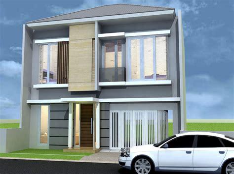 kumpulan gambar contoh desain rumah minimalis lantai lahan sempit desain rumah perumahan