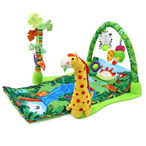 Rainforest Baby Play Mat by Baby Play Mat Infant Developing