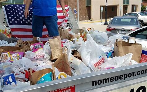 Wheaton Food Pantry by Donations Of Food Collected During Wheaton 4th Of