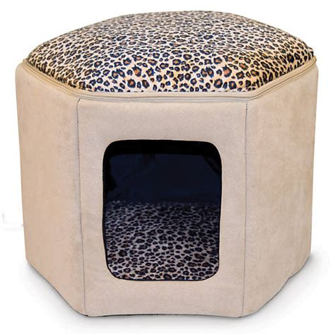 petsmart cat beds k h clubhouse cat bed cat covered beds petsmart