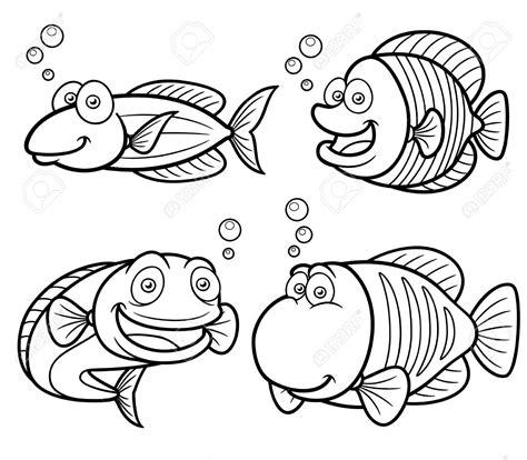 coloring conjuntos peces para colorear