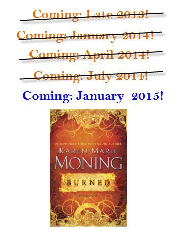 Burned Fever 7 By Karen Marie Moning Reviews