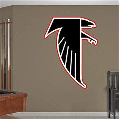 atlanta falcons wall decor wood art wall decor atlanta falcons logo wall decal shop fathead 174 for