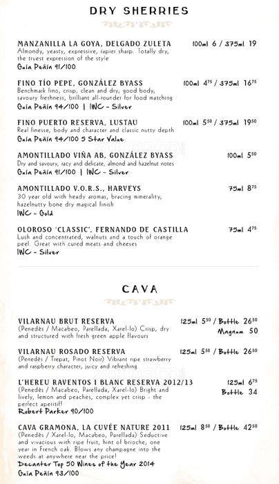 camino menu camino menu 250 para camino southwark zomato uk