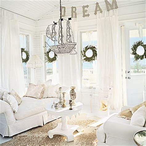all white decor celebrate with white 25 days of decorating coastal living