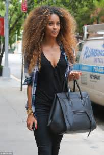 natural hair events in nyc ciara s wild new do is here to stay as dressed down singer