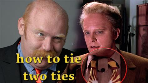 how to tie mcfly s tie from back to the future ii