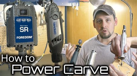 wood carvepower carve   rotary tool youtube