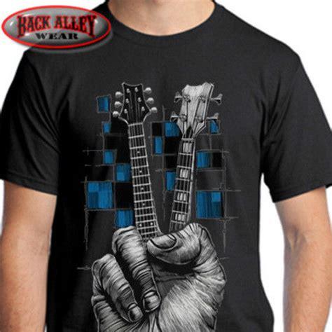 guitar blue pattern style men s clothing t shirts s m l xl don t fret t shirt tee music guitarist bass guitar