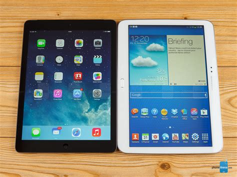Tablet Samsung Galaxy Tab 3 apple air vs samsung galaxy tab 3 10 1
