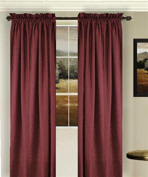 wine colored curtains solid wine colored window curtain available in