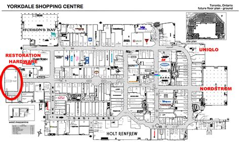 yorkdale mall floor plan yorkdale announces west expansion with canada s largest