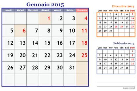 Calendario 2015 Pdf Calendari Mensili 2015 Da Scaricare Gratis