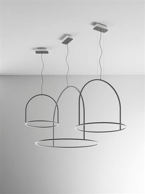 u light by timo ripatti for axo light rings of light in space