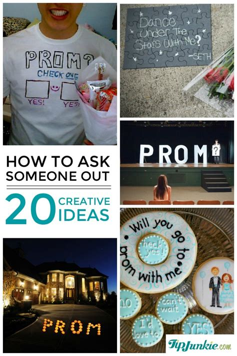 how to ask to be my 20 creative ways to ask someone out prom date
