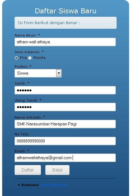 program aplikasi ujian nasional dengan cbt mini tes puspendik