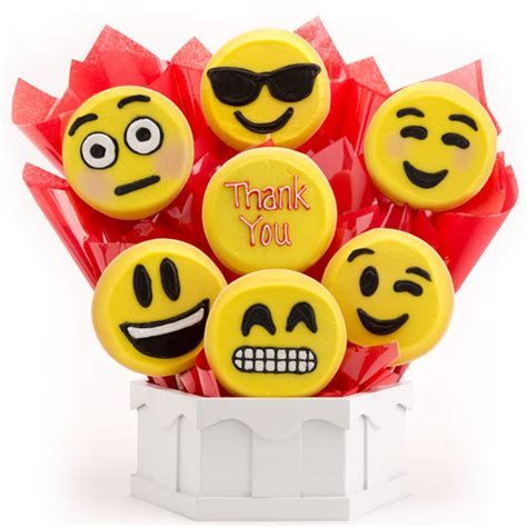 emoji thank you thank you emoji cookies thank you gift delivery