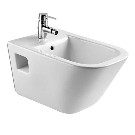 bidet roca roca the gap wall hung bidet uk bathrooms