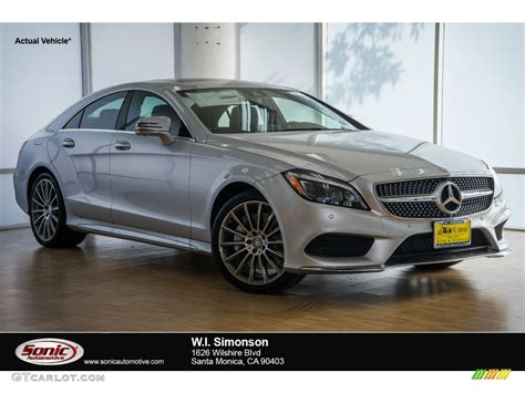 2016 iridium silver metallic mercedes cls 550 coupe 108972131 gtcarlot car color