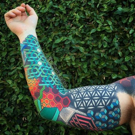 colorful geometric tattoos best 25 geometric sleeve ideas on geometric
