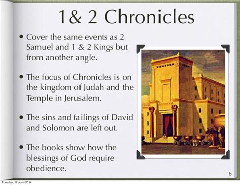year one chronicles of the one book 1 books journey through the bible the books of chronicles