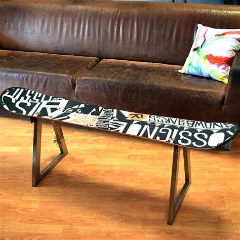 Snowboard Coffee Table Home Alchemy Snowboard Coffee Table