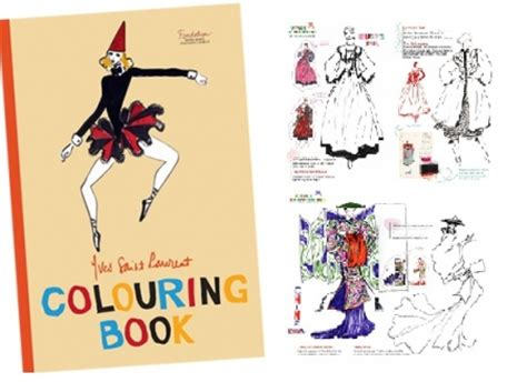 coloring book yves laurent yves laurent coloring book explores the fanciful