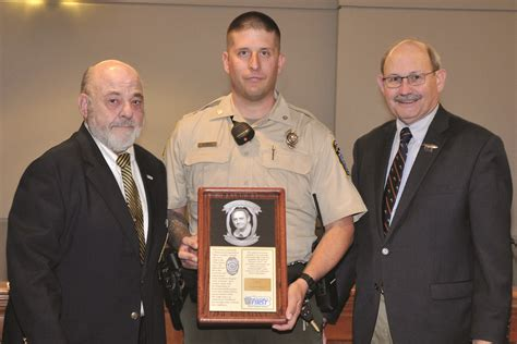 pa fish and boat commission conservation award waterways conservation officers receive awards