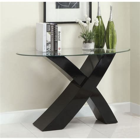 modern console table black contemporary sofa table modern console table stylish