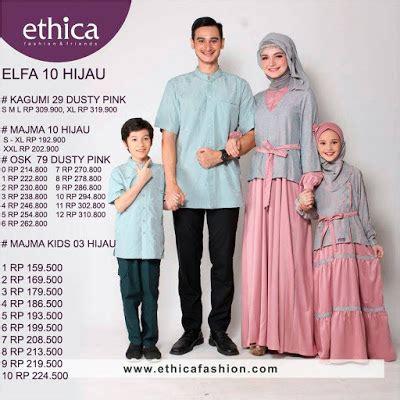 Sarimbit Elfa 10 Hijau Ethica at tien collection