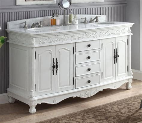Florence Vanity by Florence 62 Inch Sink Vanity Hf036xlw Aw