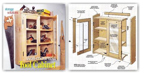 Wall Tool Cabinet by Wall Tool Cabinet Plans Woodarchivist