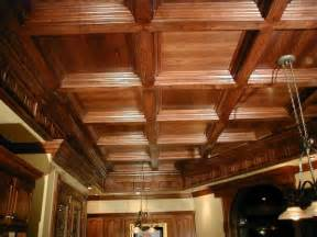 Wood Coffered Ceiling Oak Coffered Ceiling