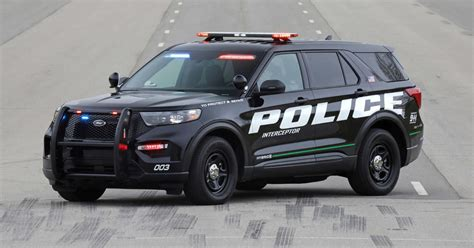 ford police interceptor utility quick drive  long green arm   law roadshow