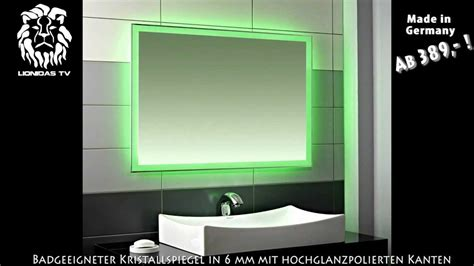 led displaybeleuchtung wandspiegel mit indirekter beleuchtung innenr 228 ume und