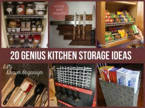 Diy Kitchen Storage Ideas 20 Genius Kitchen Storage Ideas