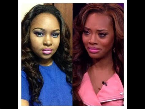 yandy smith eye color yandy smith hip hop nyc reunion hair inspired