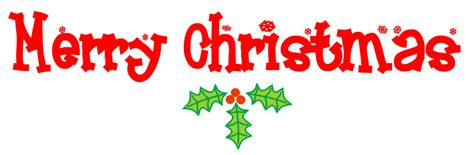merry clipart words merry clip words happy holidays