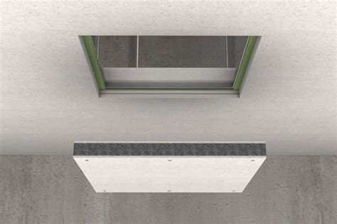 Ceiling Hatch Access Door by Protection Of Access Panels Hatches Promat Asia