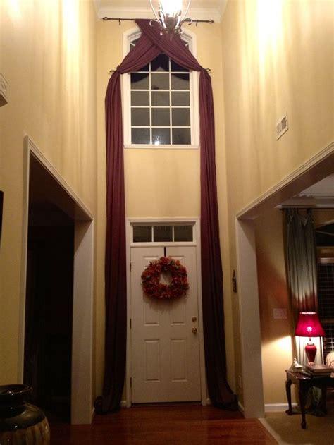 story foyer drapes decorating ideas foyer