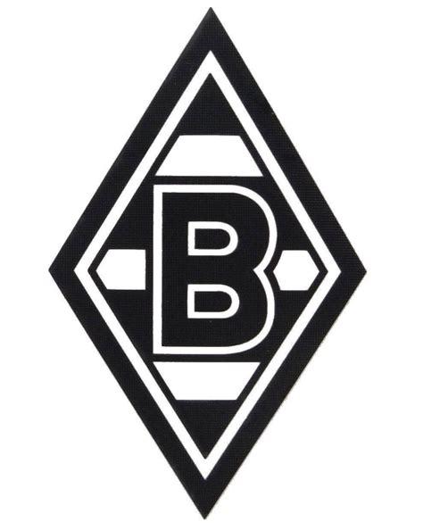 Vfb Autoaufkleber by Vfl Borussia M 214 Nchengladbach Aufkleber Raute Quot Schwarz
