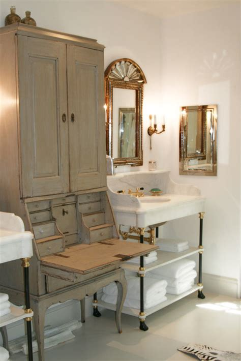 vintage bathroom cabinet design ideas