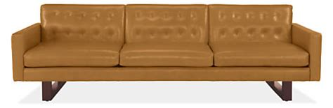room and board leather sofa wells leather sofa modern sofas modern living room