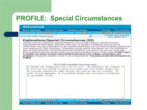 Css Profile Pre Application Worksheet