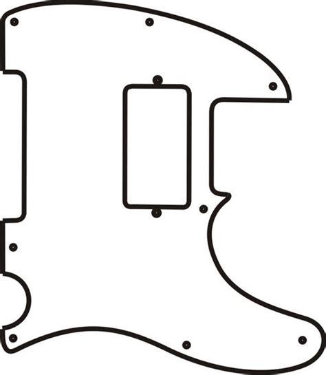 fender telecaster template telecaster pickguard template images