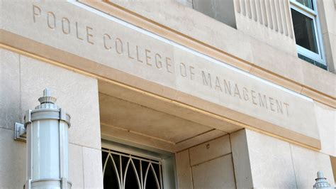 Nc State Mba Ranking by Nc State Names New Dean Of Poole College Of Management