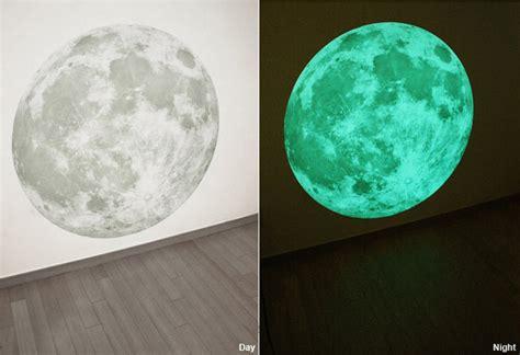 glow in the moon wall sticker glow in the moon wall sticker the