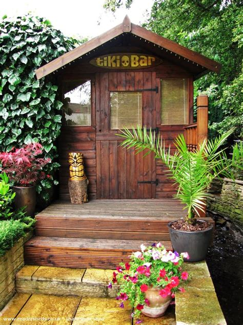 Shed Tiki Bar lodge s tiki bar pub entertainment from wakefield owned by stephen shedoftheyear tikistevo
